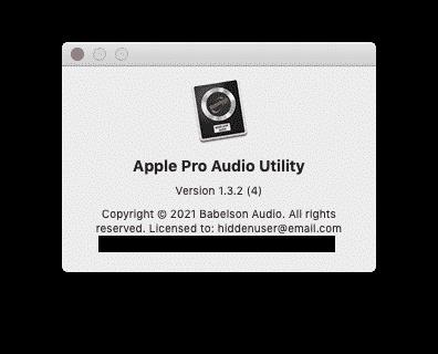 Apple Pro Audio