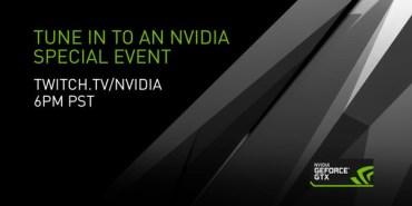 Nvidia's Special Event livestream Friday