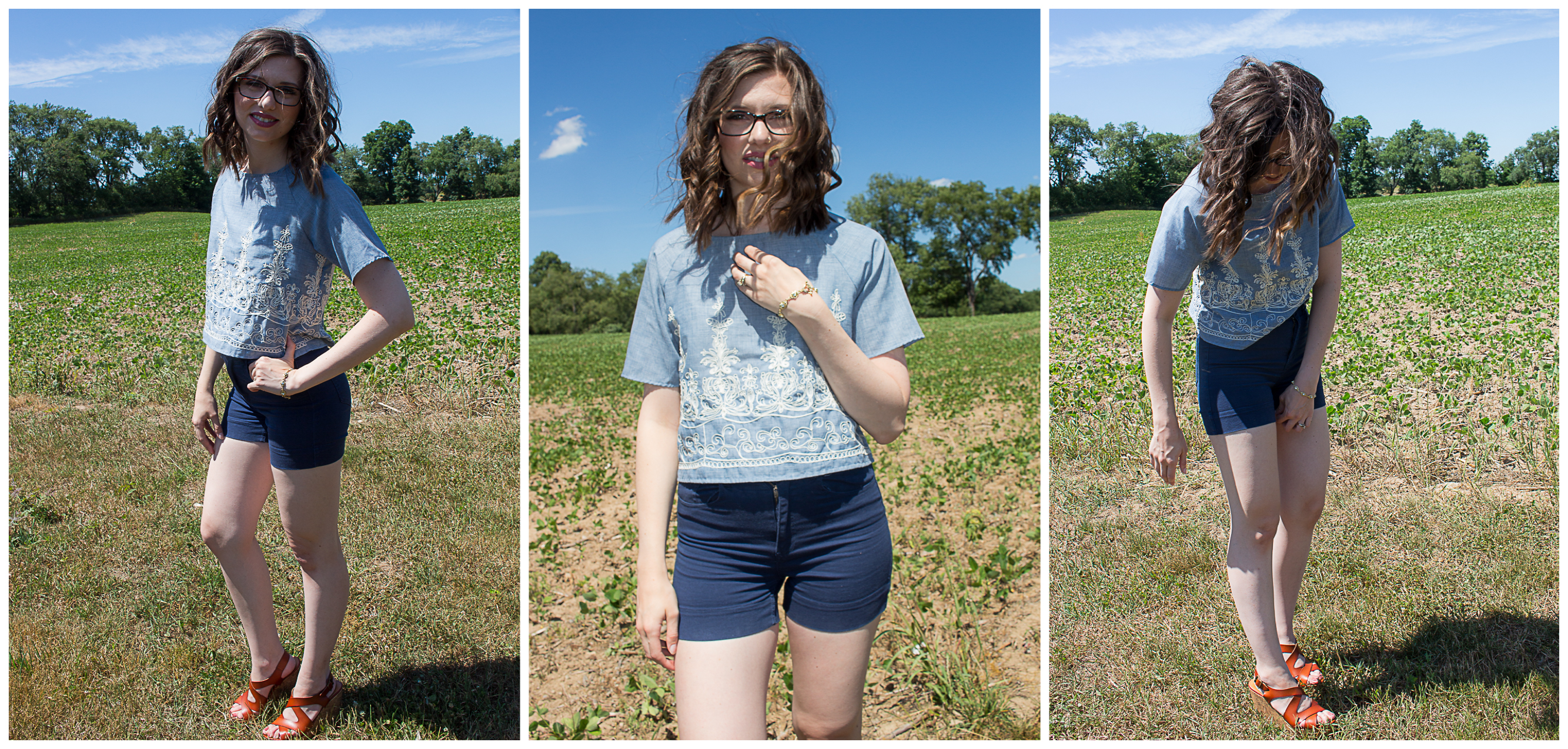 Babes and Blue Houses | Simple Summer Style