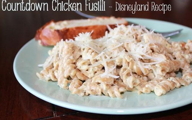 Disney at Home: Countdown Chicken Fusilli Pasta