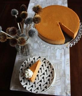 Disneyland pumpkin cheesecake recipe and tutorial
