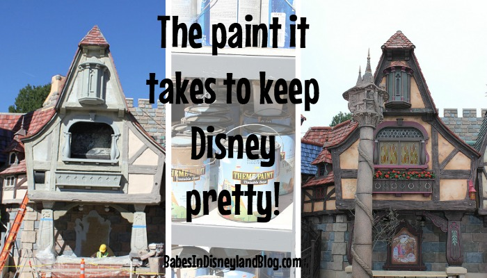 The Paints That Keep Disney Parks Pretty