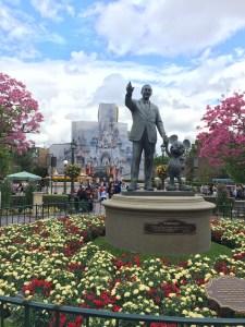 Easter flowers at Disneyland 2015