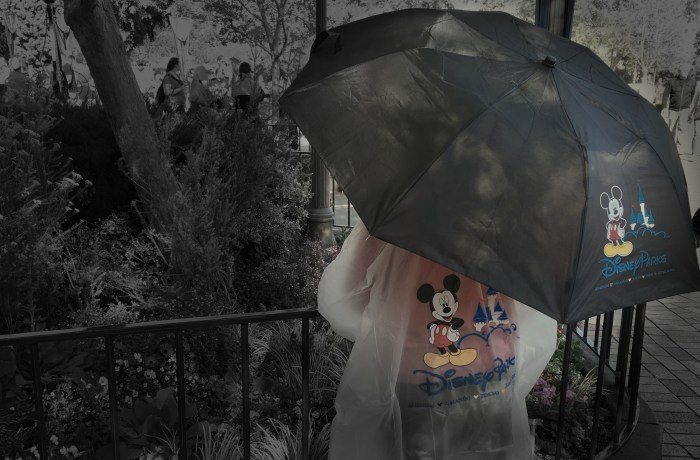 How to survive the rain at Disneyland and DCA