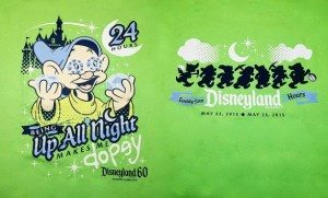New merchandise at the Disneyland Resort May 2015.