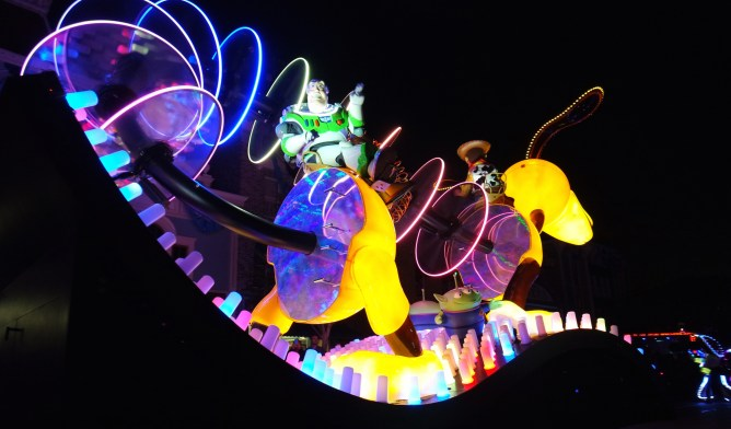 What you need to know about Paint The Night at Disneyland