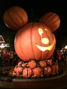Mickey Pumpkin After Dark