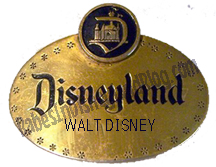Walt Disney Name Tag by Babes In Disneyland