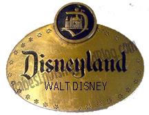 Walt Disney Name Tag by Babes In Disneyland