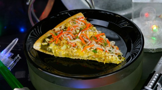 Dark Side Chicken Curry Specialty Pizza available at Pizza Port