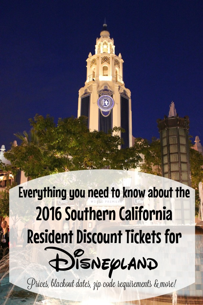 Everything you need to know about the 2016 So Cal discount tickets at Disneyland