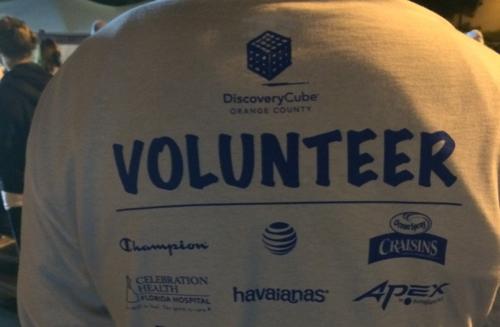 rundisney volunteer shirt