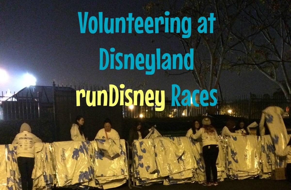 Volunteering at Disneyland runDisney Races!