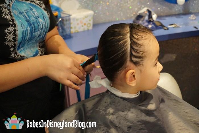 Prepping hair