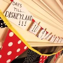 DIY Disneyland Countdown