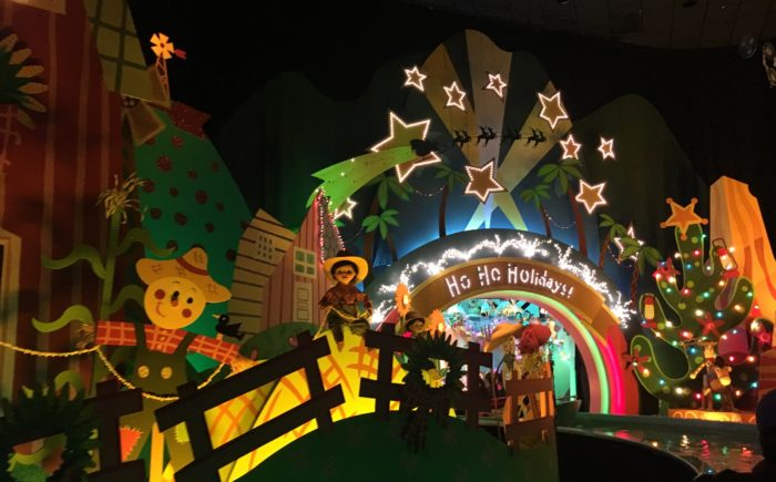 Holiday fun for little ones at the Disneyland Resort