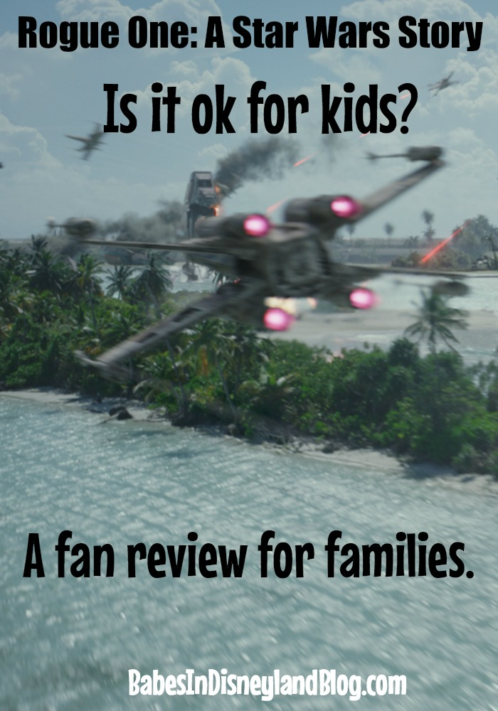 Is Rogue One ok for kids