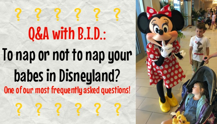 To Nap or Not to Nap Your Babes in Disneyland?