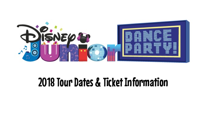 Disney Junior Dance Party On Tour – Dates and Ticket Information