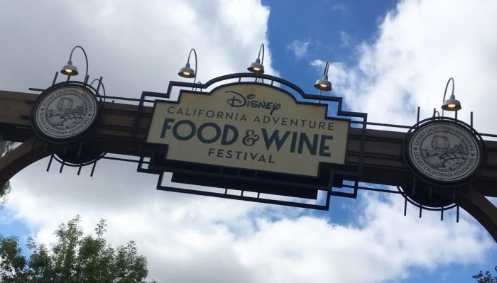 Disney California Adventure Food and Wine Festival Announcement!
