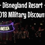Disneyland Resort 2018 Military Discount
