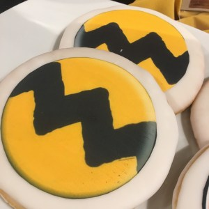 Charlie Brown cookie