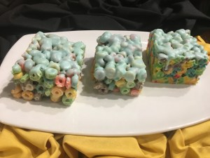 Yum! Get a load of this cereal treat!