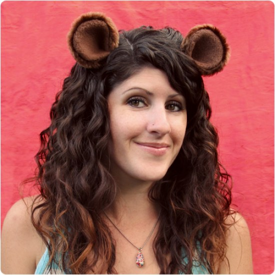 DIY Animal Ears for Halloween #halloween #accessories #costume