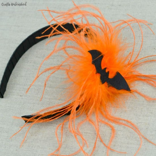 Bat Headband for Halloween #halloween #bat #headband #hair