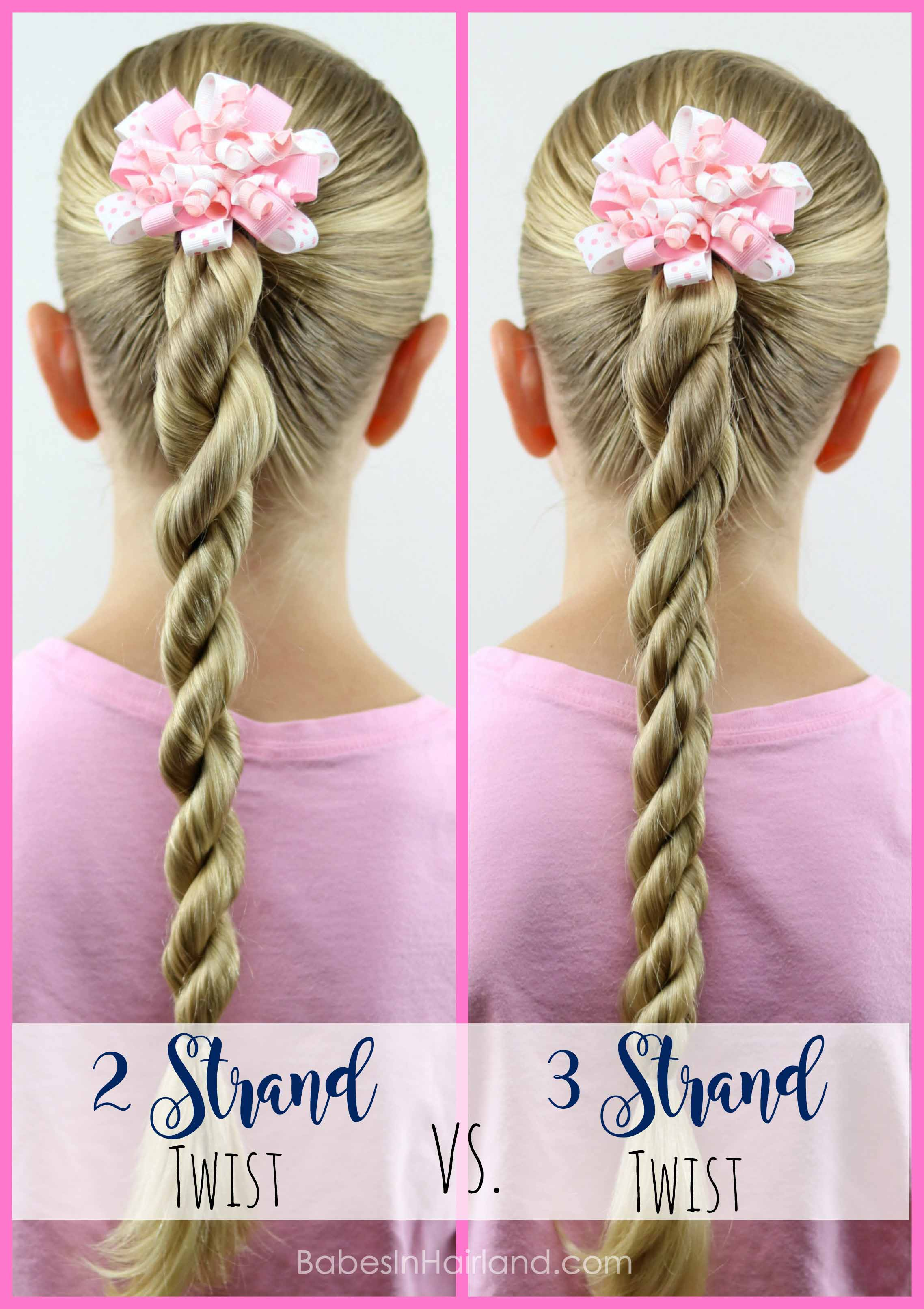 I Think The 3 Strand Twist Is Cooler Looking Personally Even If Get My 2 Twists Extremely Tight They Dont Look As Good