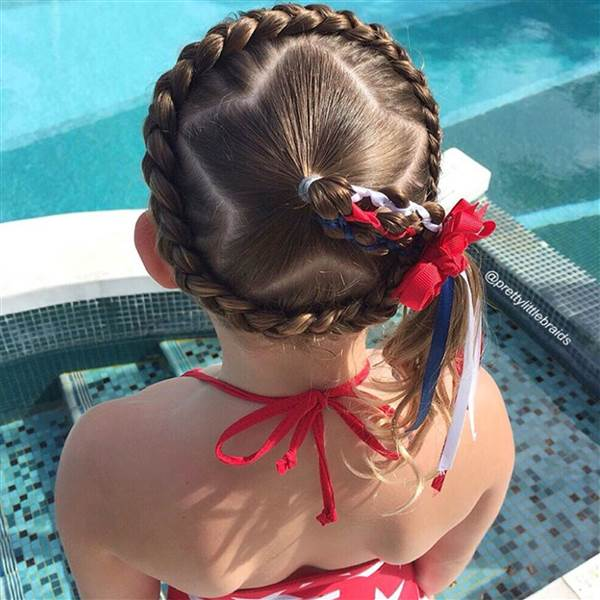 15 Hairstyles For The 4th Of July Celebrate With Patriotic Hair