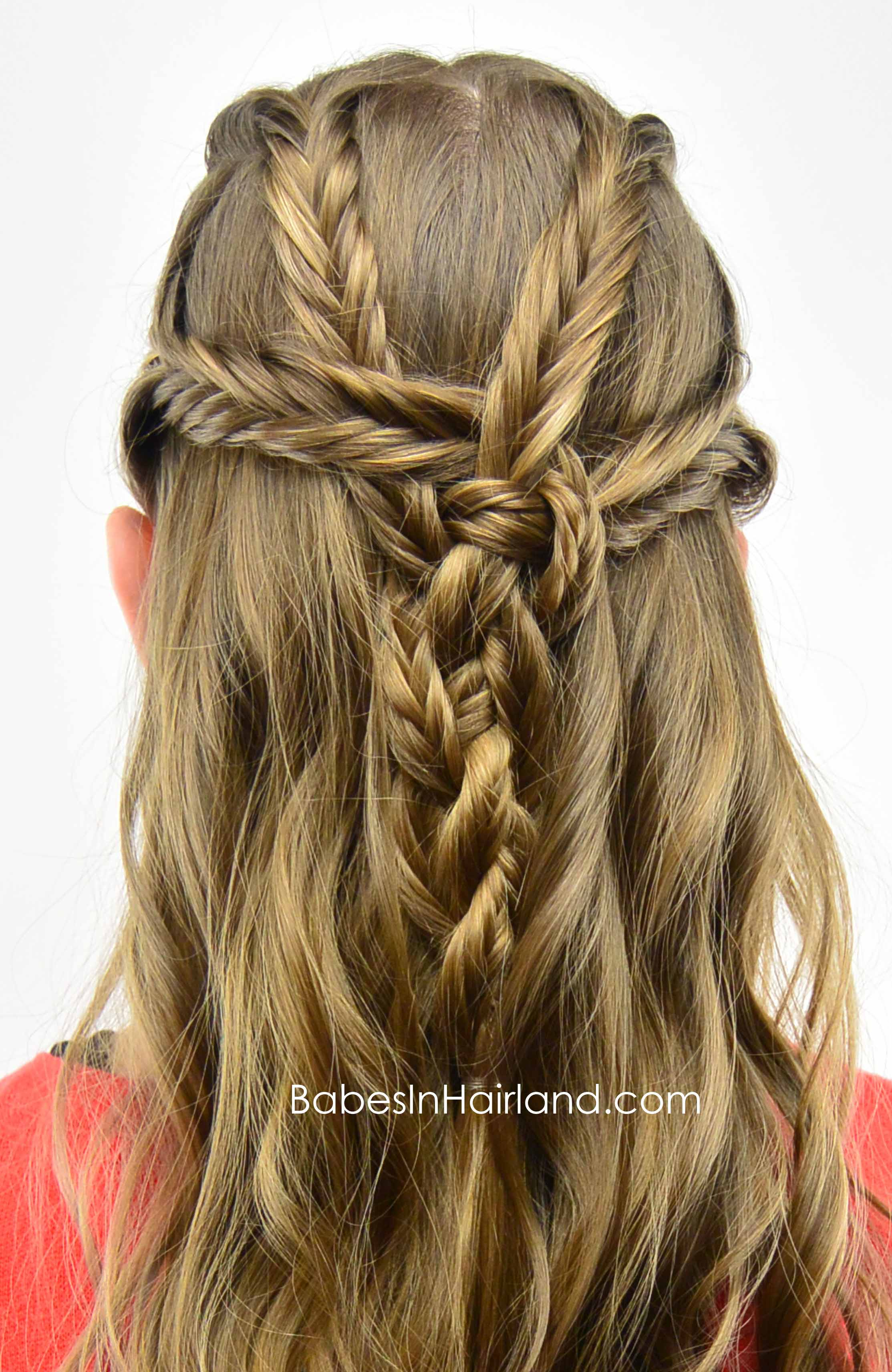 fishbone hair styles fishbone braided pullback in hairland 6601