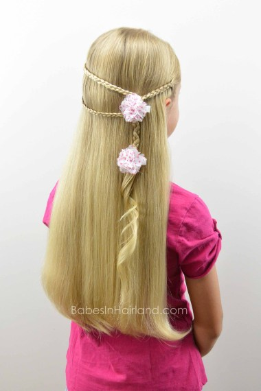 Micro Braid Pullback from BabesInHairland.com #microbraid #braids #hair #hairstyle