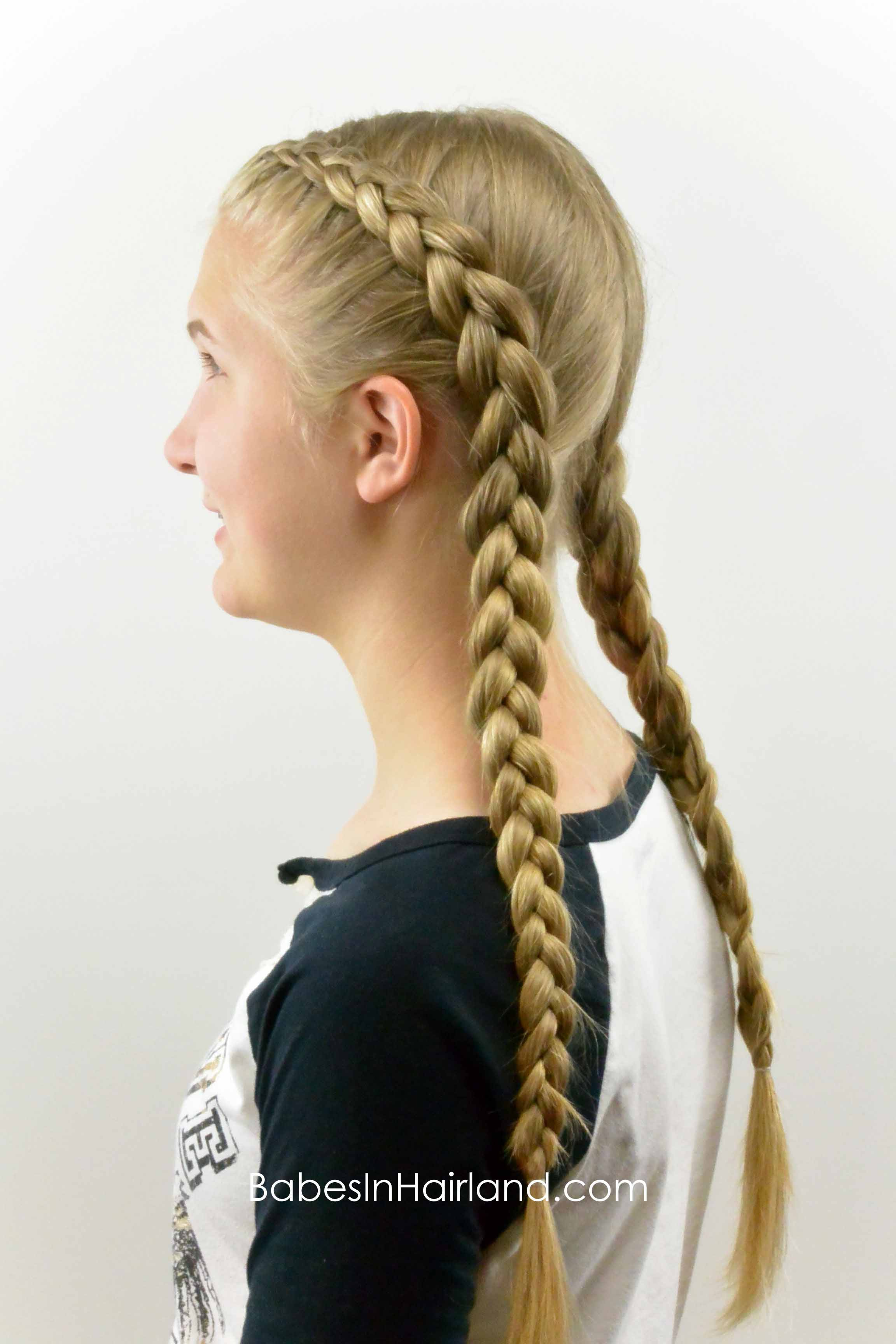 How to: Tight Dutch Braids on Yourself - Babes In Hairland