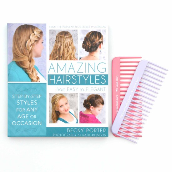 Amazing Hairstyles Book & Wide-Tooth Combs