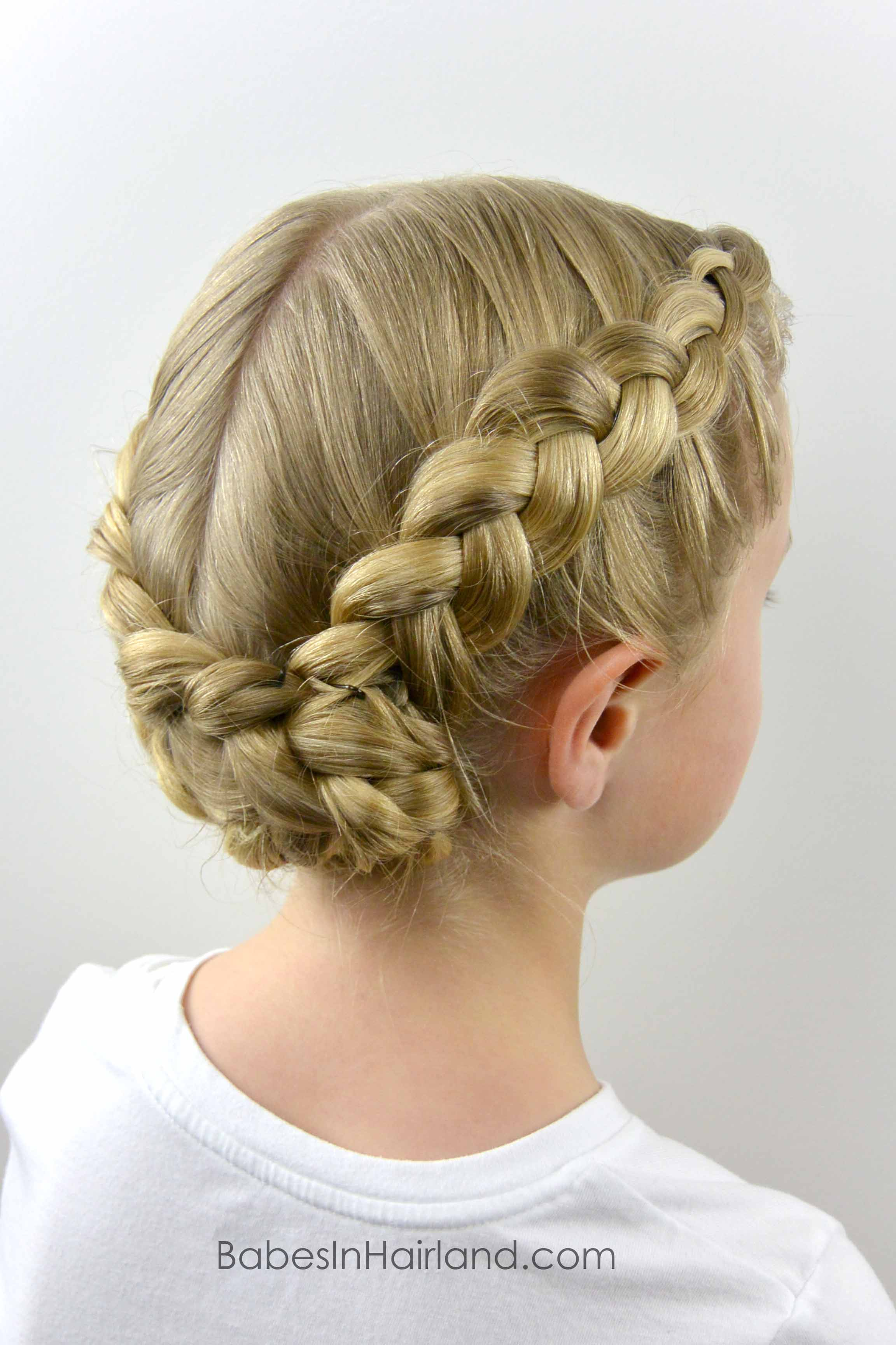Dutch Braided Baptism Hairstyle Babes In Hairland