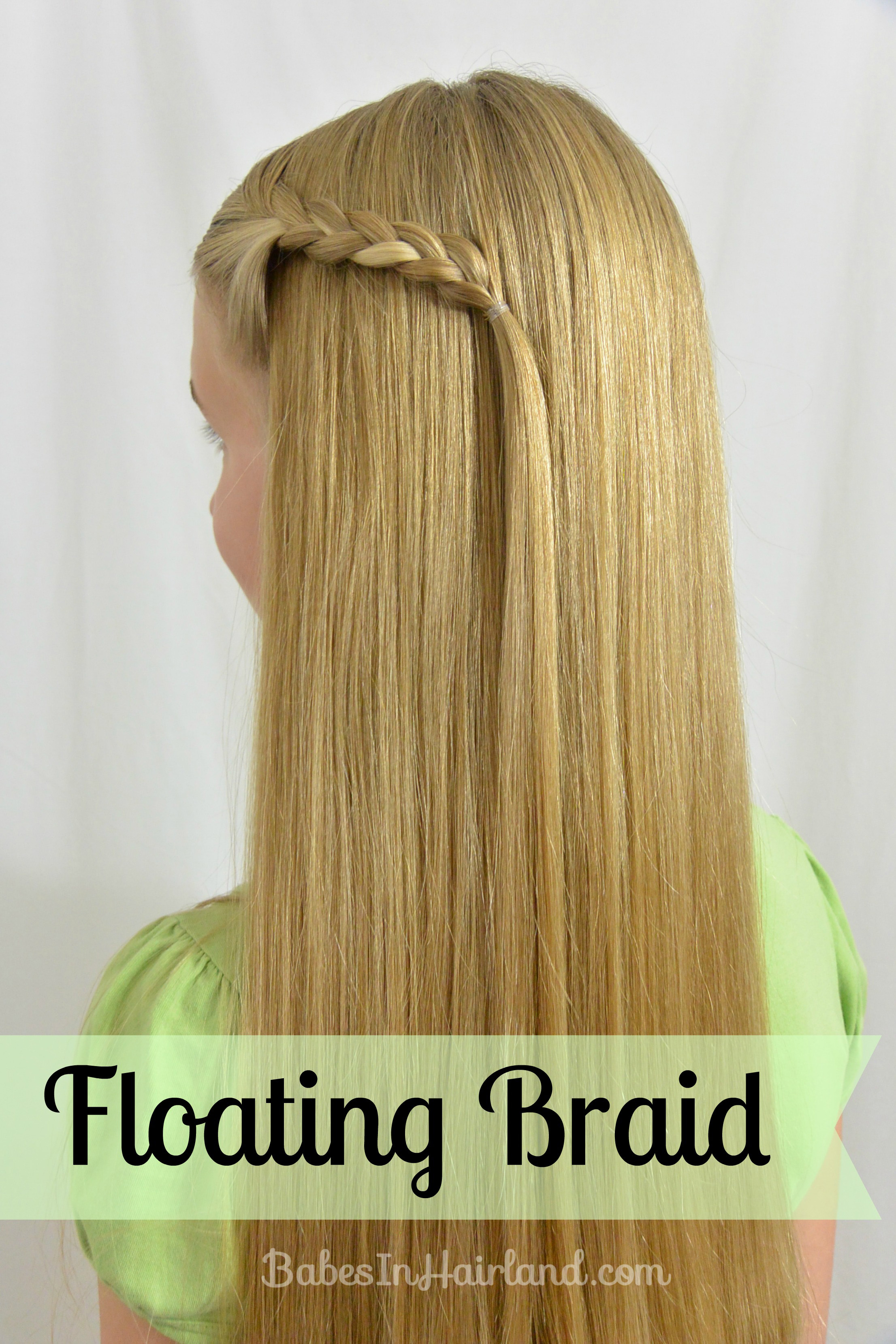 floating braid - babes in hairland
