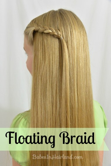Floating Braid from BabesInHairland.com