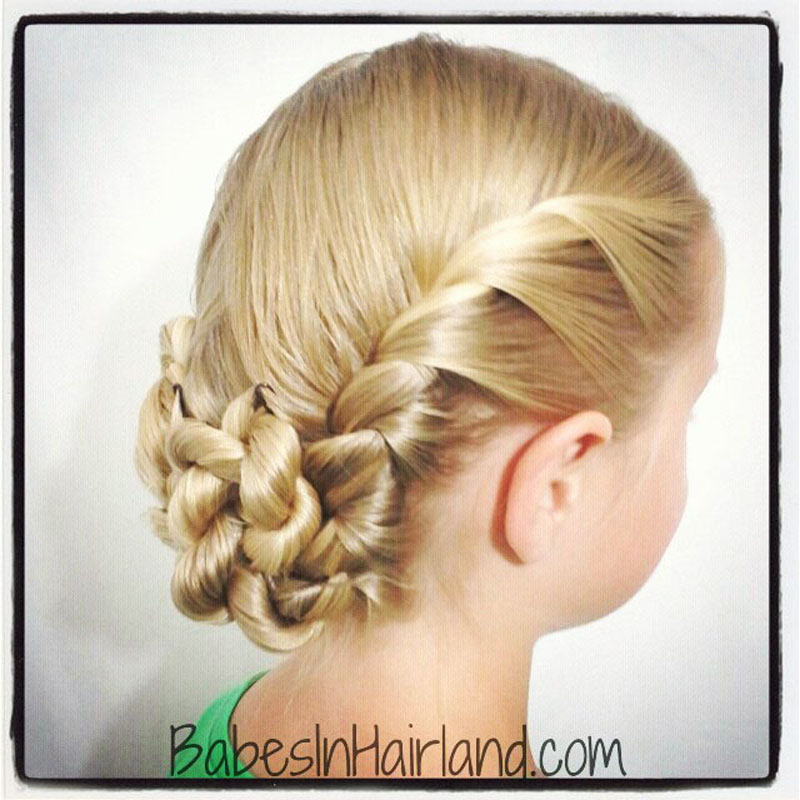 French twisted updo babes in hairland french twisted updo solutioingenieria Images
