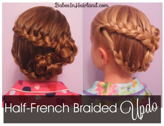 Half-French Braided Updo (1)