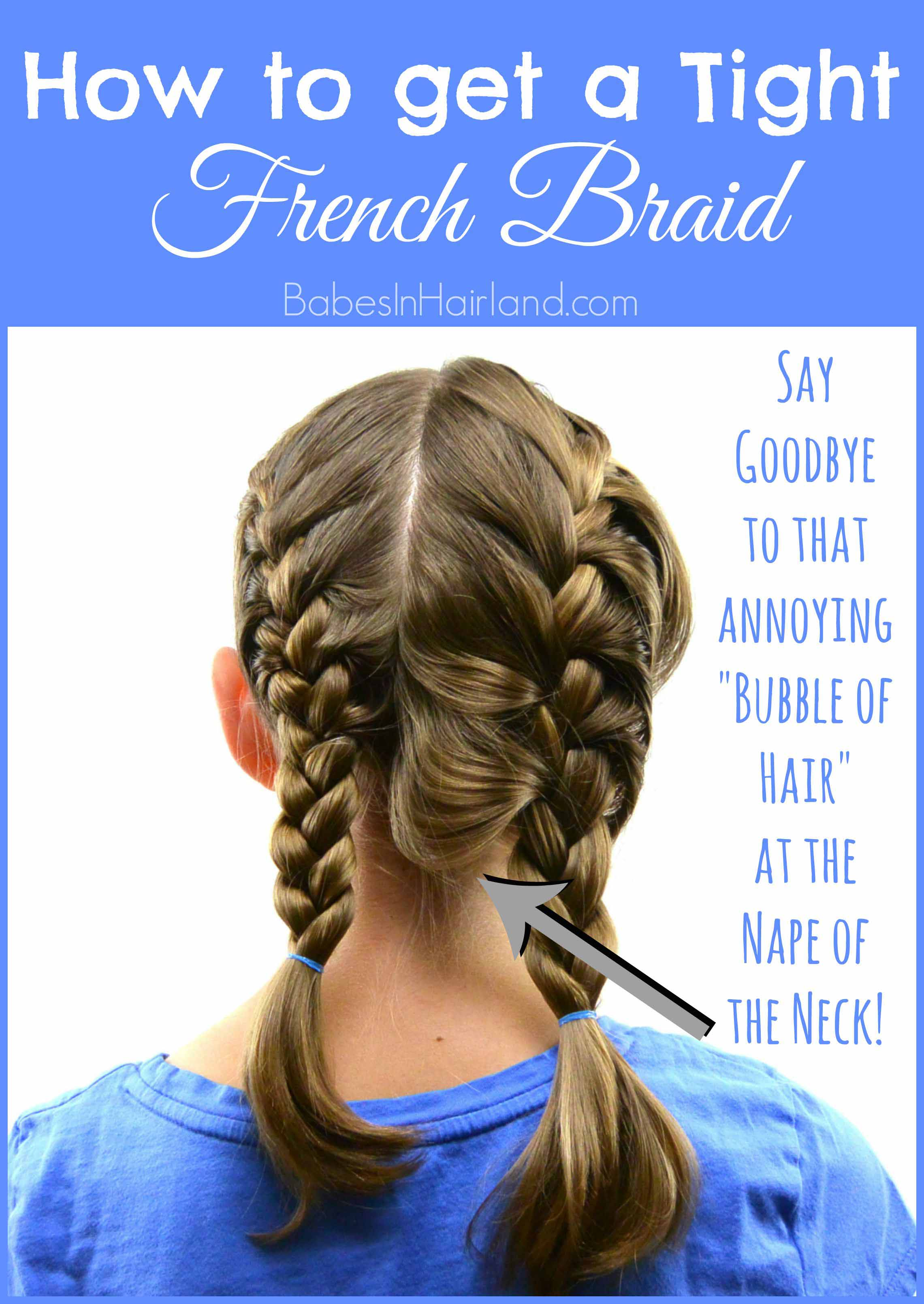 How to get a tight french braid babes in hairland how to get a tight french braid from babesinhairland frenchbraid hairtips solutioingenieria Gallery