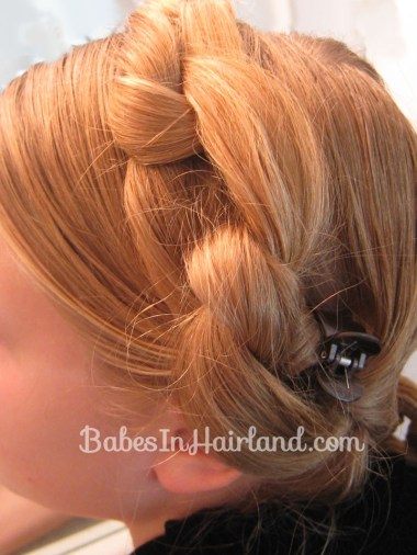 Chunky Knot Milkmaid Braids - BabesInHairland.com (9)