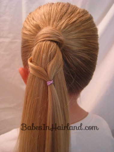 Chevron Ponytail from BabesInHairland.com (3)