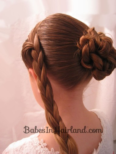 Braid & Knotted Bun Updo from BabesInHairland.com (12)
