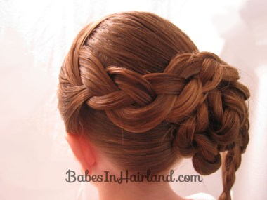 Braid & Knotted Bun Updo from BabesInHairland.com (13)