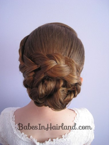 Braid & Knotted Bun Updo from BabesInHairland.com (18)
