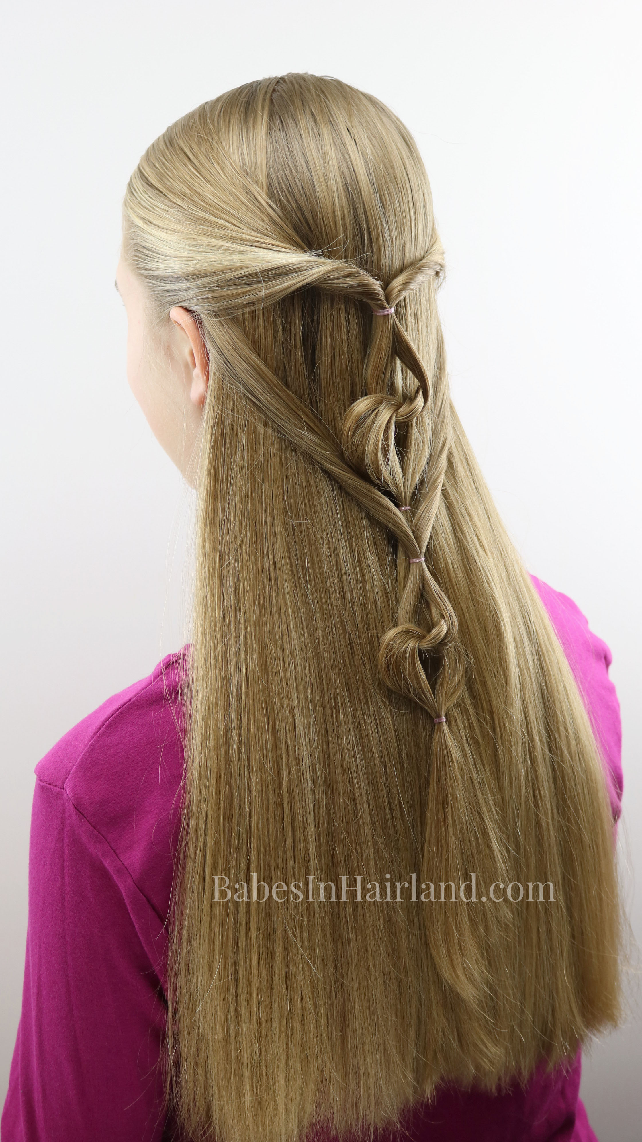 Love Is In The Hair With This Cute Valentineu0027s Day Hairstyle From  BabesInHairland.com.