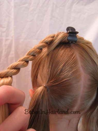 Half Knot & Rope Braids from BabesInHairland.com