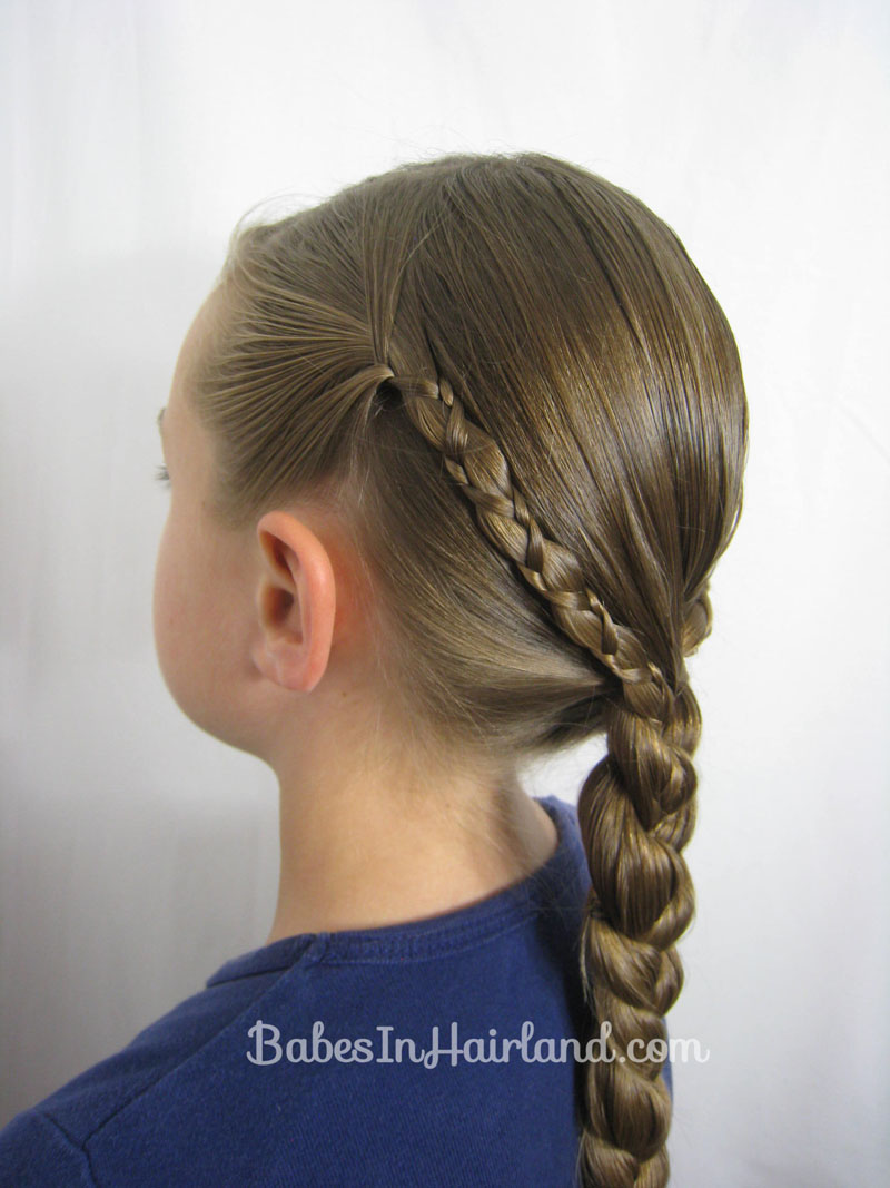 Uneven 3 Strand Braid Video Babes In Hairland
