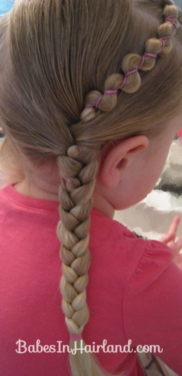 Rubber Band Wraps & Flipped Braids (10)